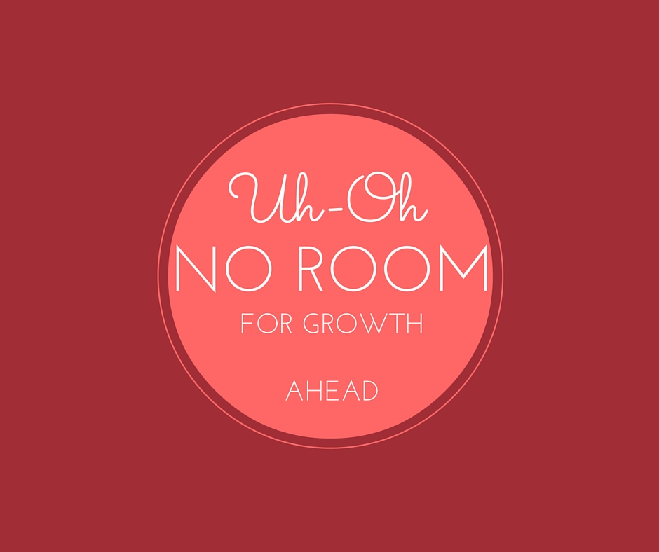 no room for growth at your company