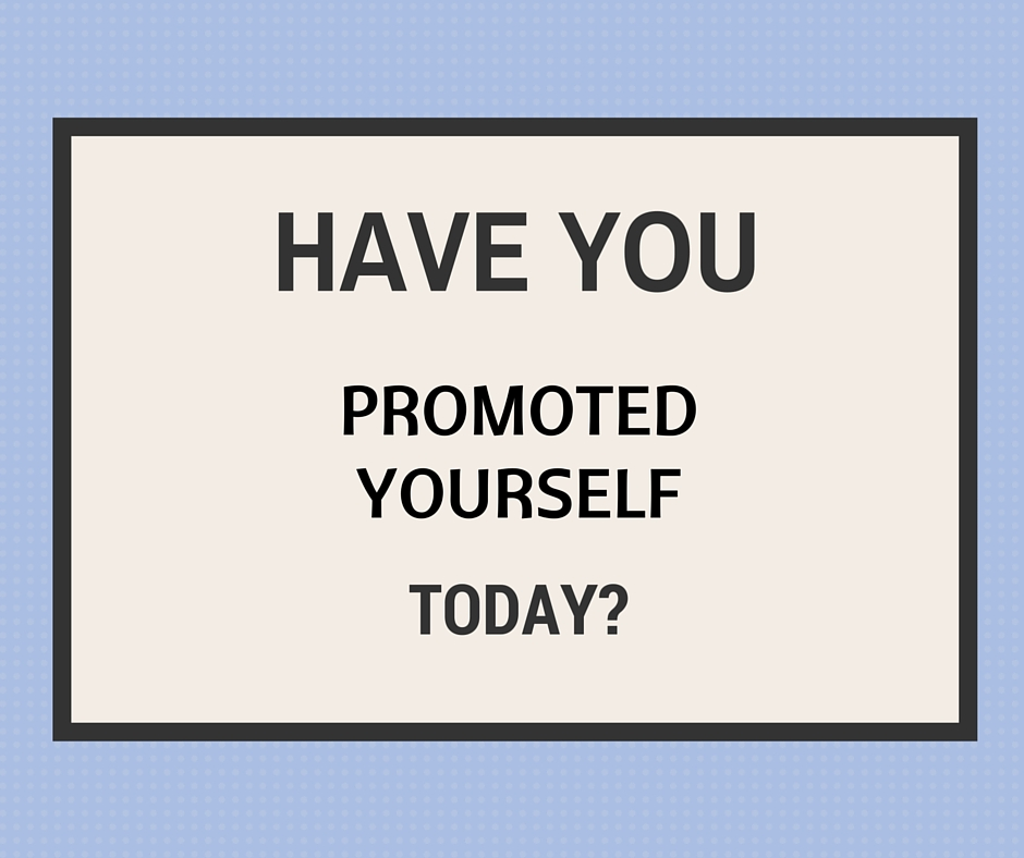 promote yourself at work