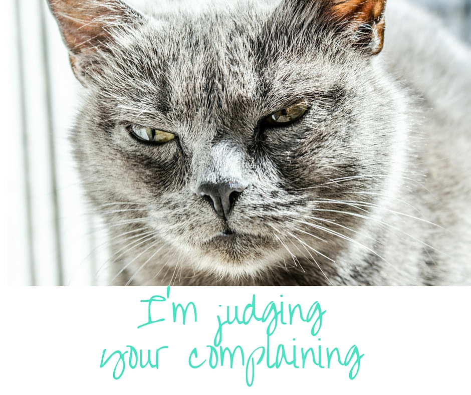 judging complainers