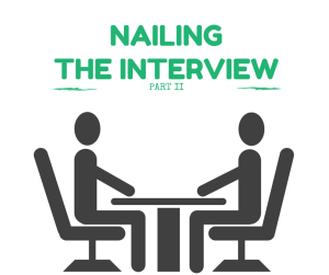 nail the interview