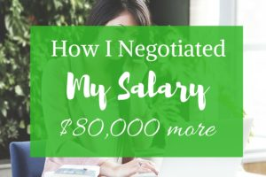 How I negotiated my salary for $80k more ~ Love this!