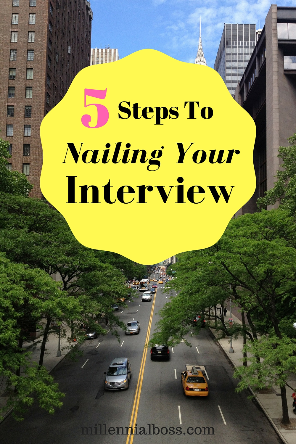 Nailing the interviewer