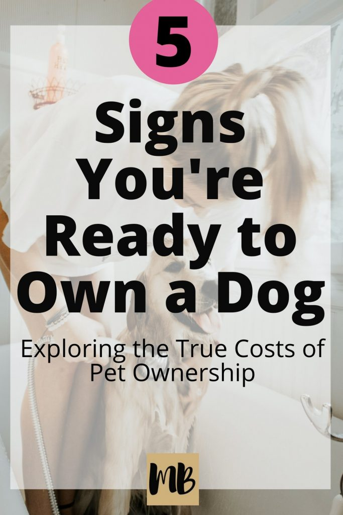 The Cost of Owning a Dog | Owning a dog has incredible benefits for your emotional health, but if you aren't careful, it can put a serious dent in your wallet. Explore the true costs of pet ownership before you buy your dog so you are prepared to provide your pooch with what it needs. #dogmama #petcare #dogowner #dogmom