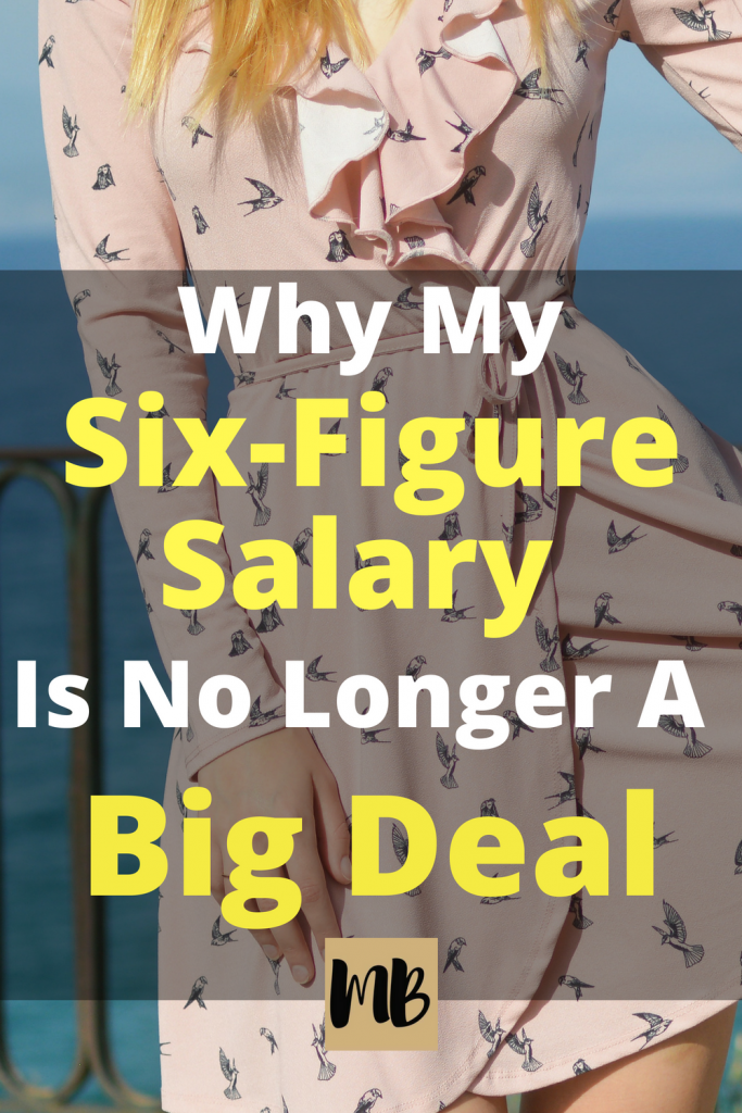 Earning a six-figure salary was my definition of success until it actually happened. Here's what I've learned about what real financial success looks like. #personalfinance #getoutofdebt #sixfigures #success