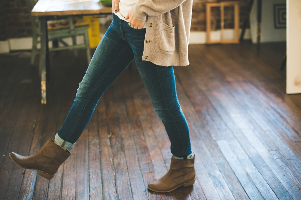 wearing jeans to work