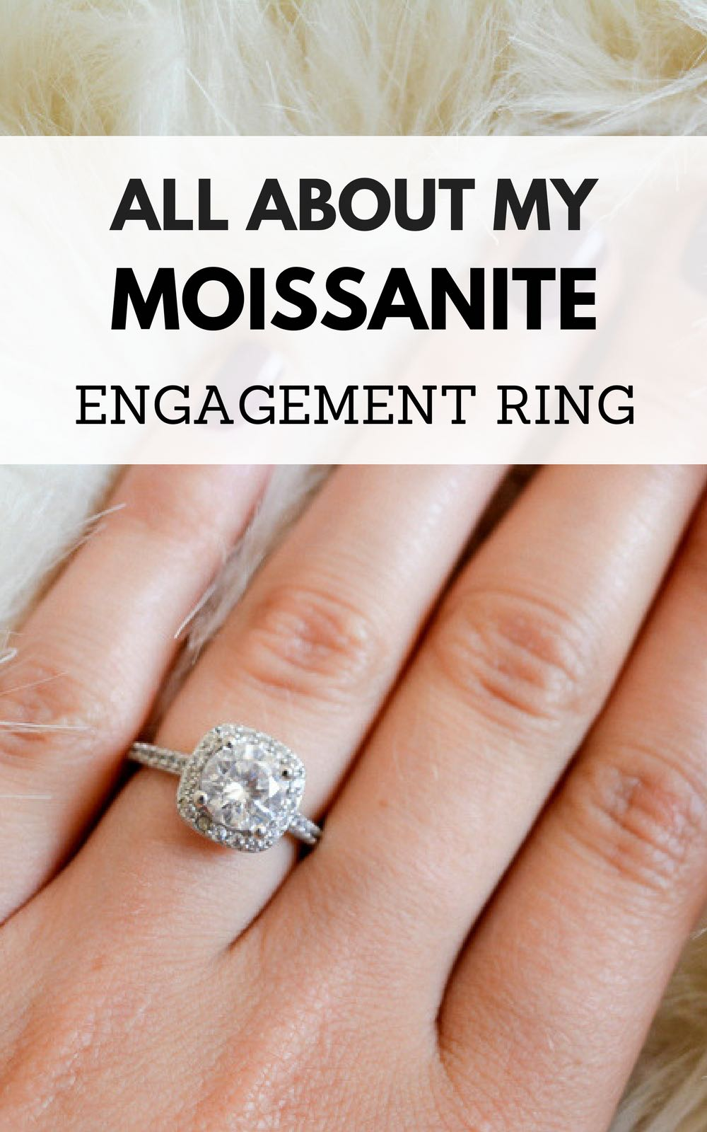 a4cf49acc371 What it's like having a moissanite engagement ring | moissanite |  moissanite vs diamond. ""
