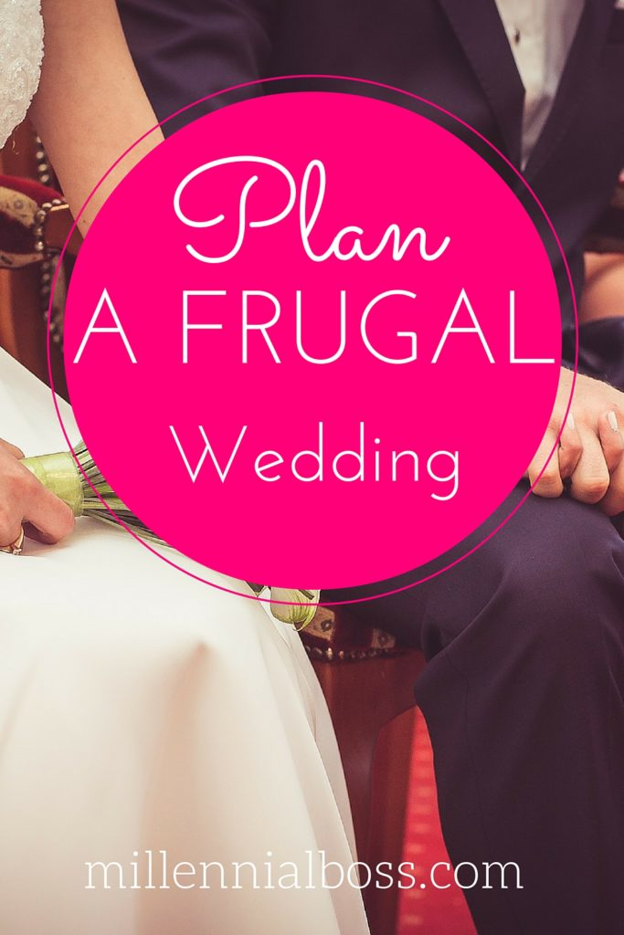 Planning a $10,000 frugal wedding