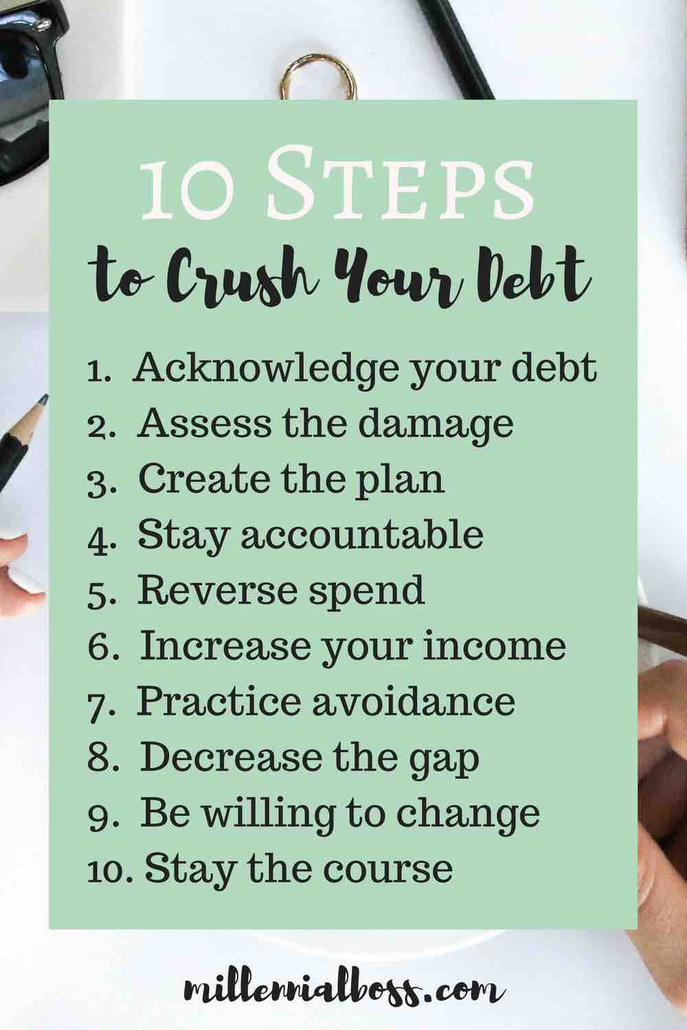 Great tips in this post for paying off debt. Thanks for sharing!