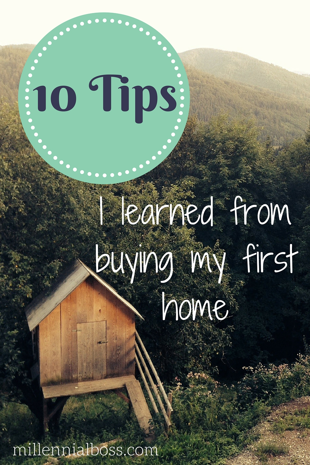 Lessons I learned from buying my first home