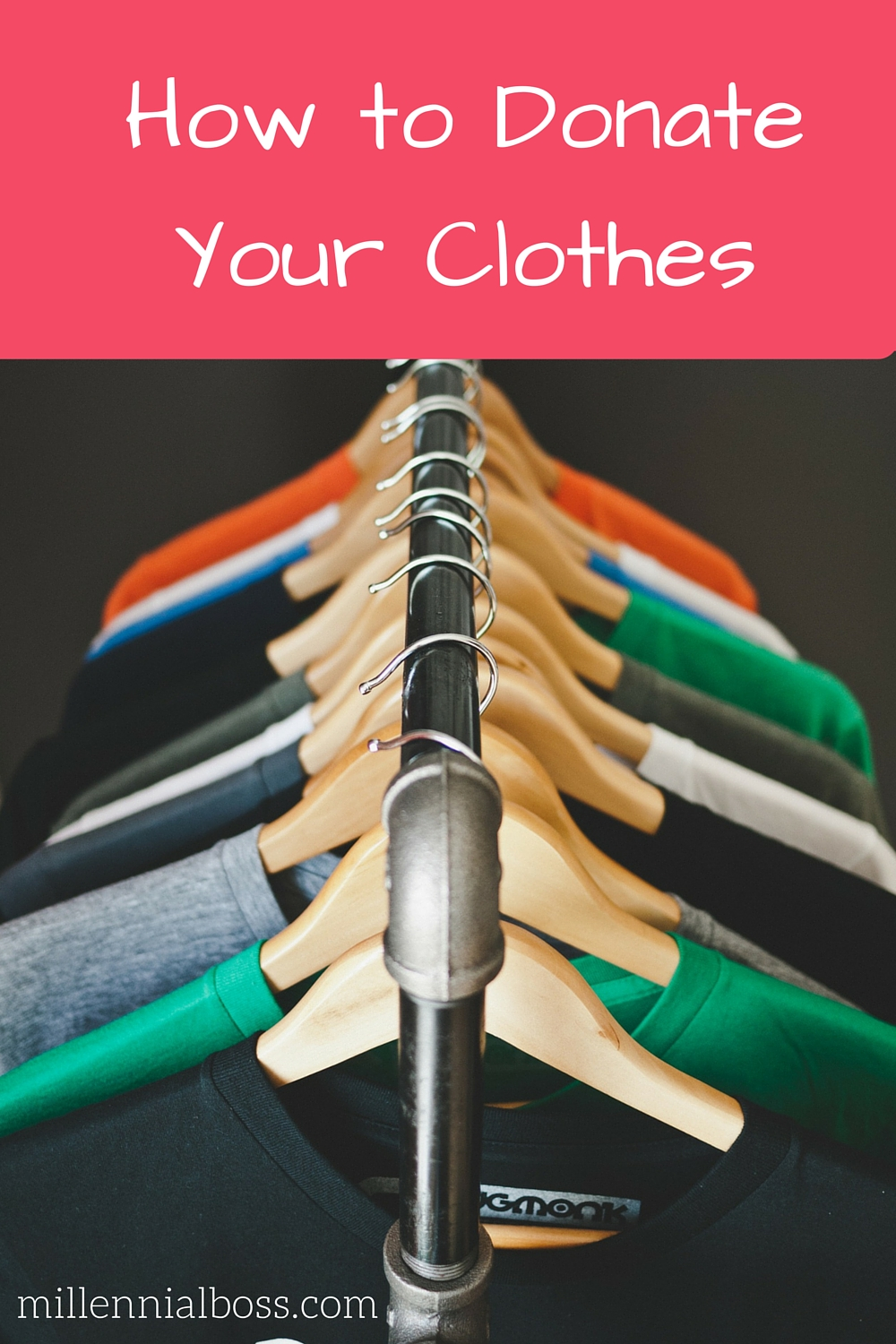 How to Get Rid of Your Clothes