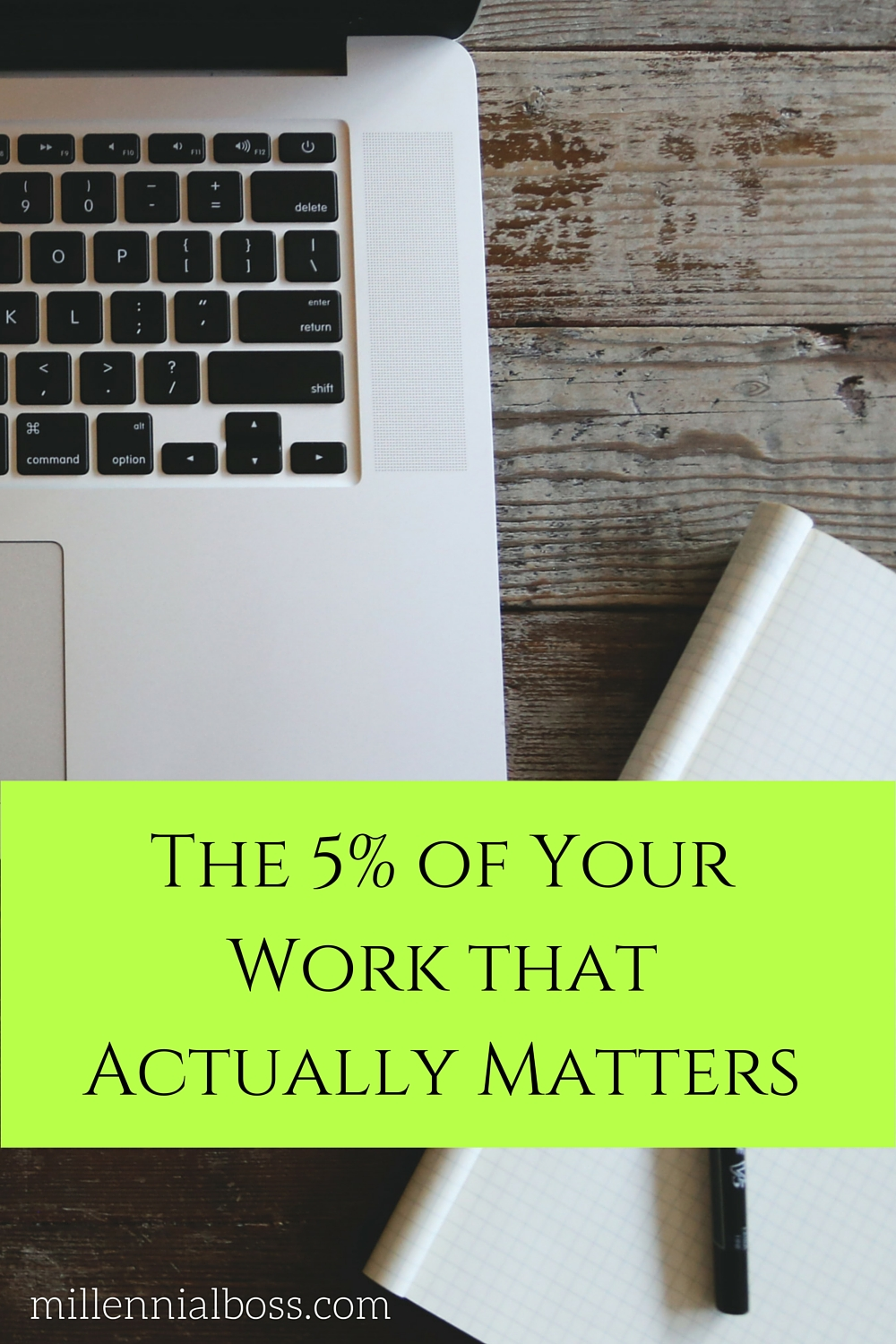 5% of Your Work Counts