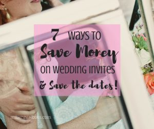 A Very Frugal Wedding: Saving on Printing and Paper
