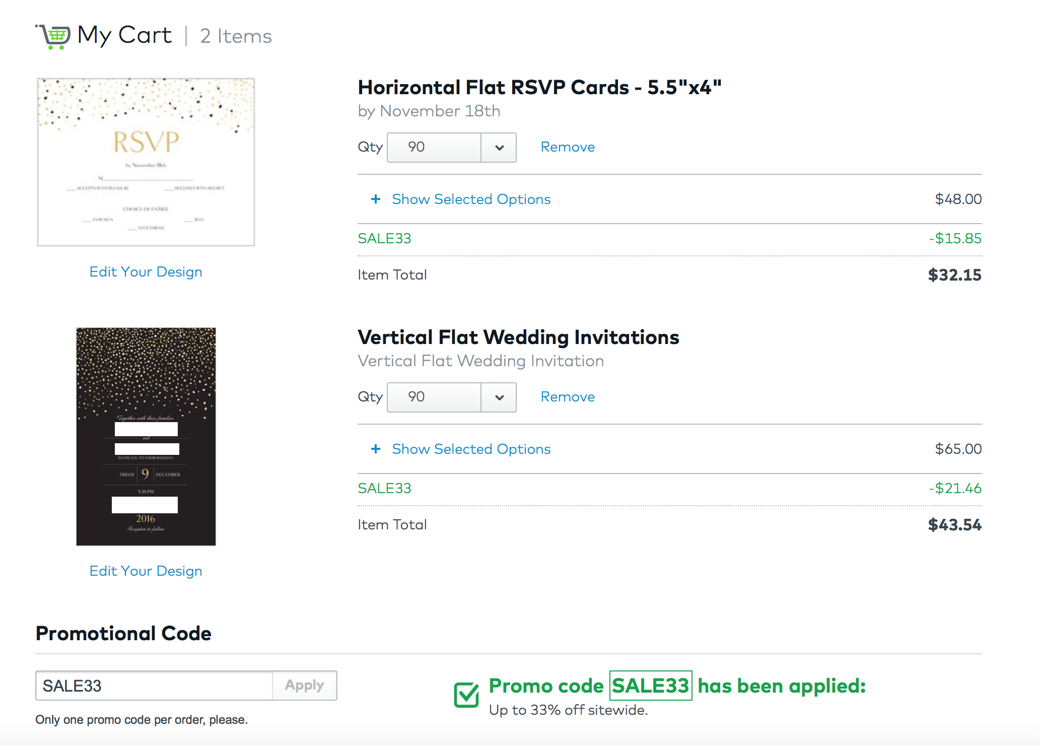 a very frugal wedding saving on printing and paper