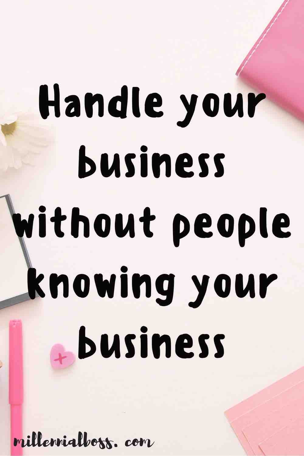 haha this is advice I need to follow! I'm always telling people my business. oops!