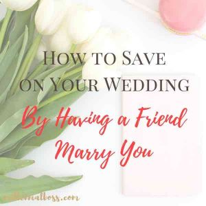 How to Save on Your Officiant By Asking a Friend or Family Member