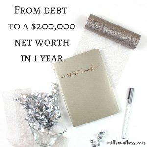 2016 in Review: From $60k in Debt to $200k Net Worth