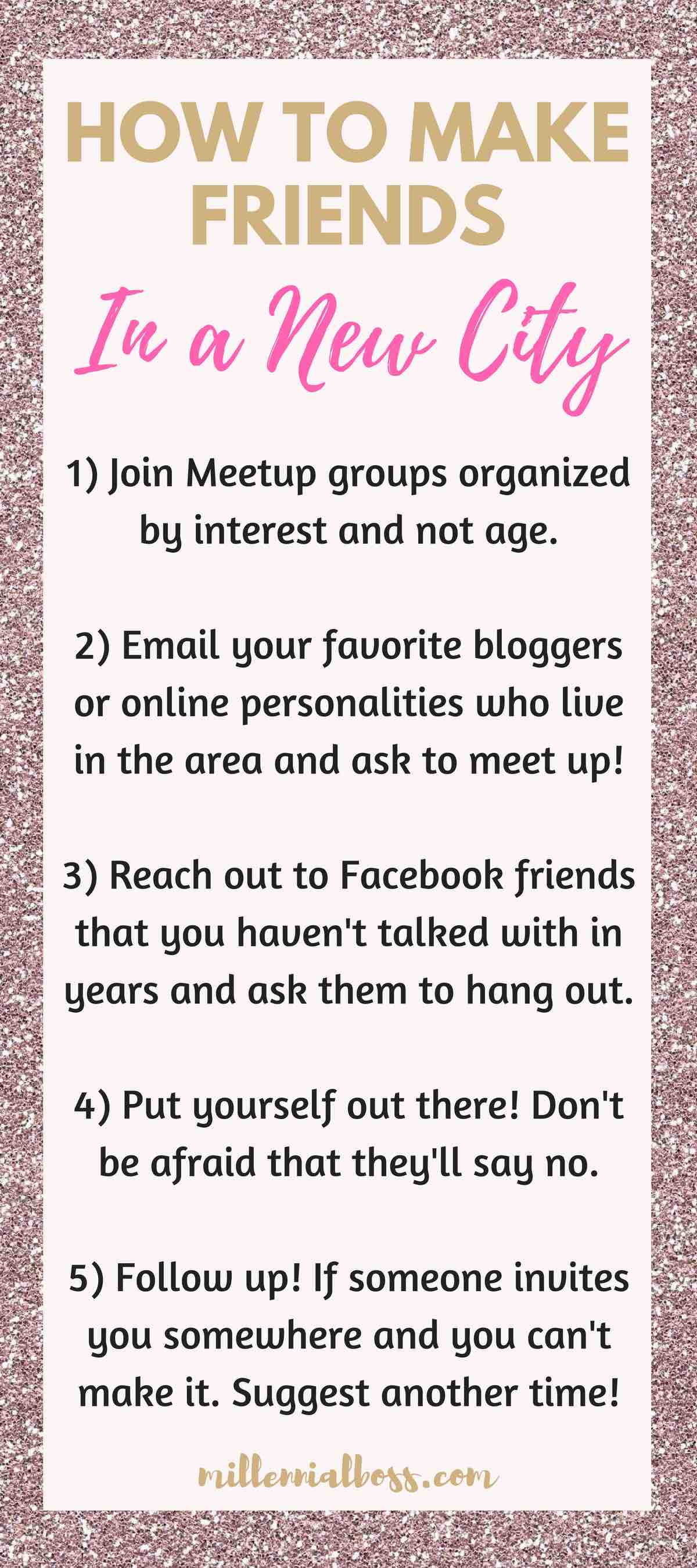 How to make friends in a new city | Can you make friends on Meetup | How to make friends