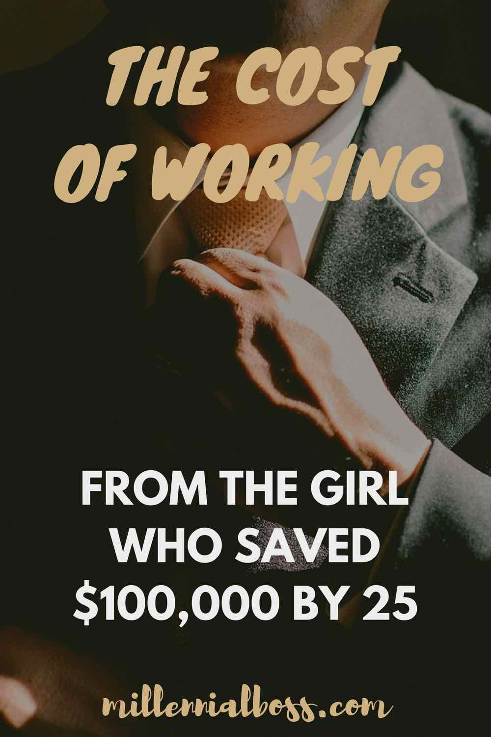 Working is Expensive: Guest Post from Fiery Millennials | #FIRE #earlyretirement #financialindependence #savingmoney #financialfreedom
