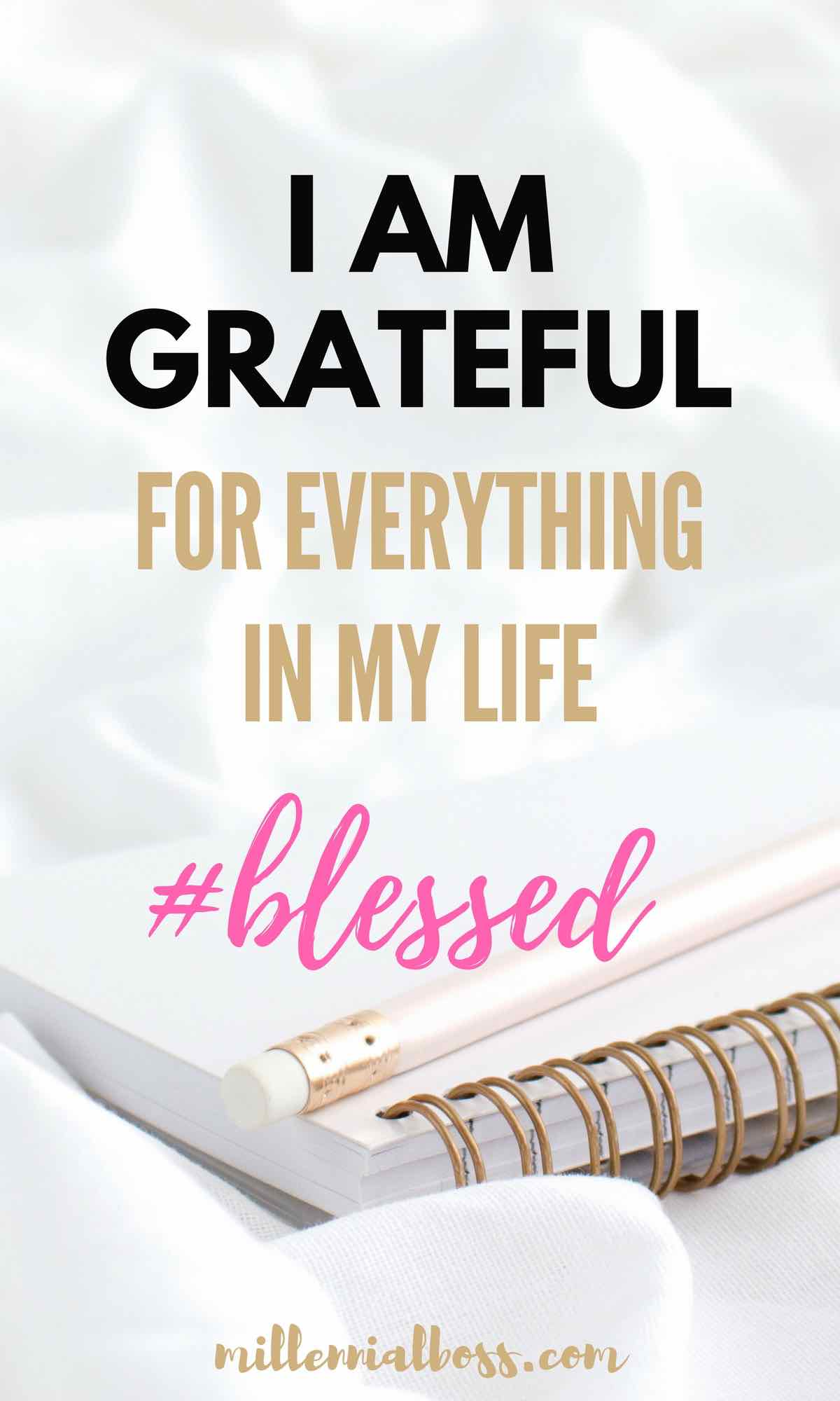 Gratitude for women I affirmations gratitude