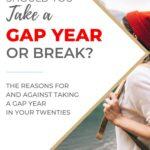 gap year pin