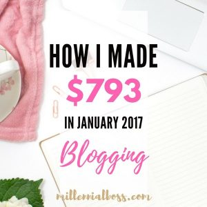 January Side Income Report – $793