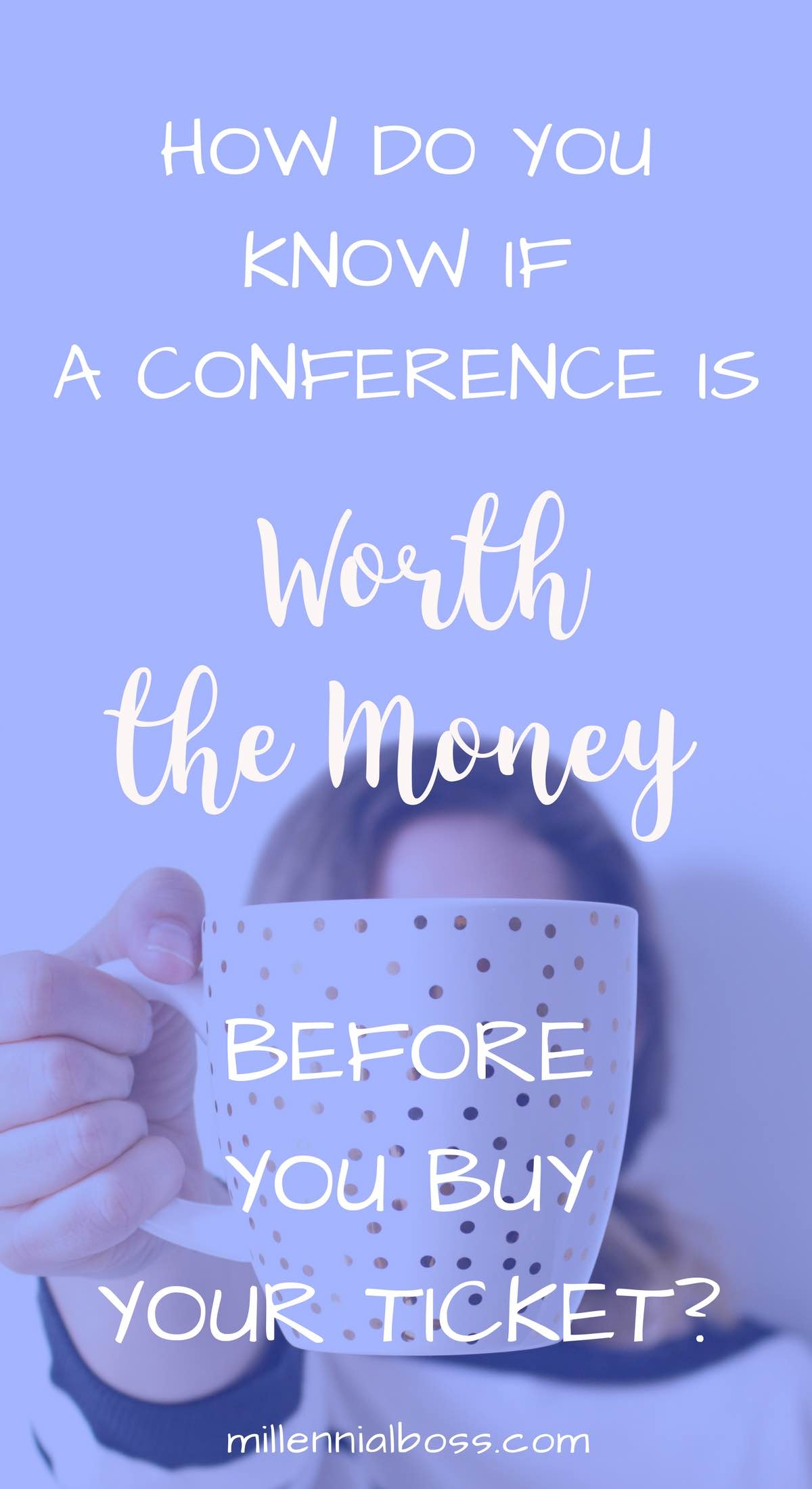 How do you know if a conference is worth it? How can you determine the value of a conference before you buy your ticket? I wonder that too.