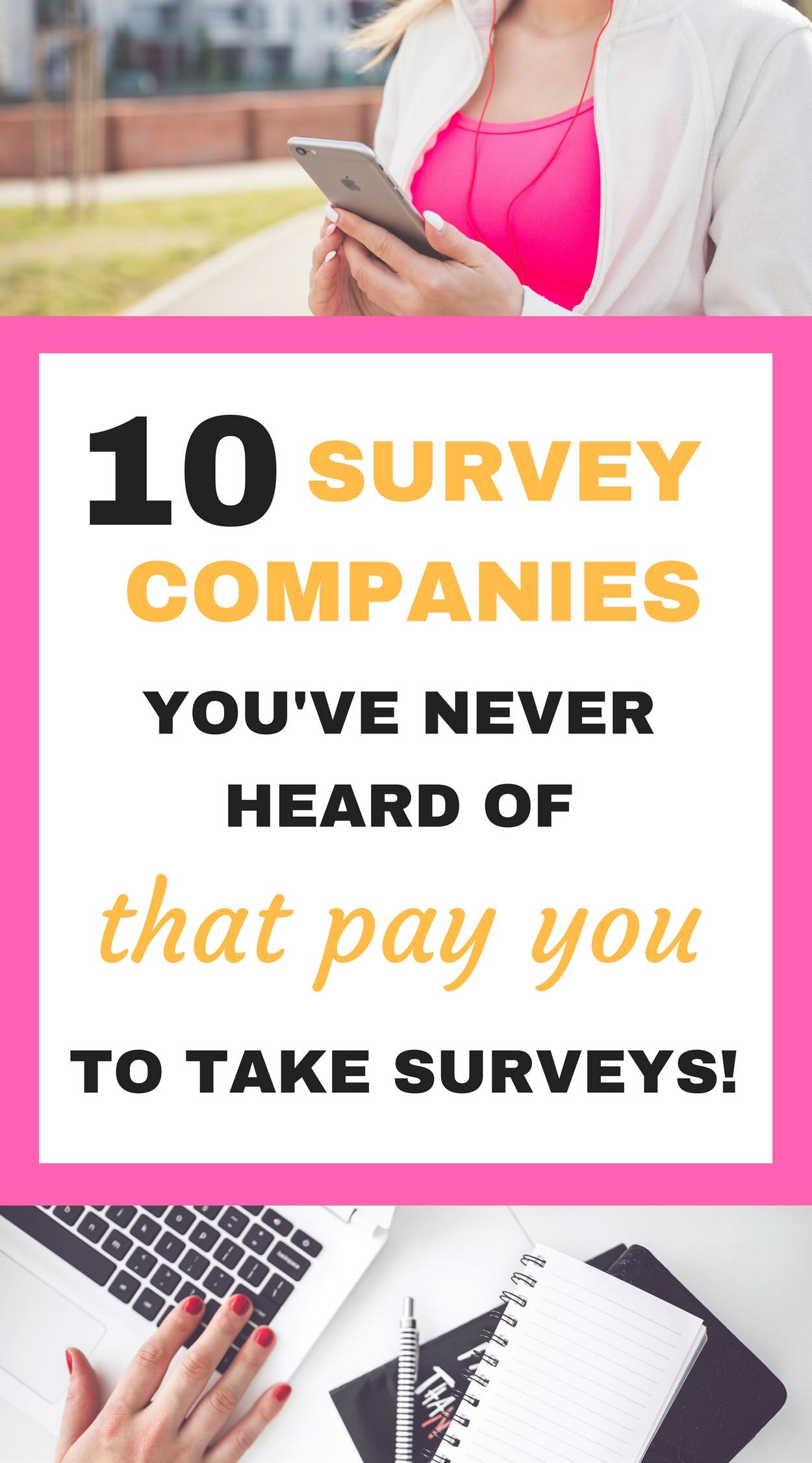 Legit survey companies that pay gift cards are hard to find! LOVE this list!