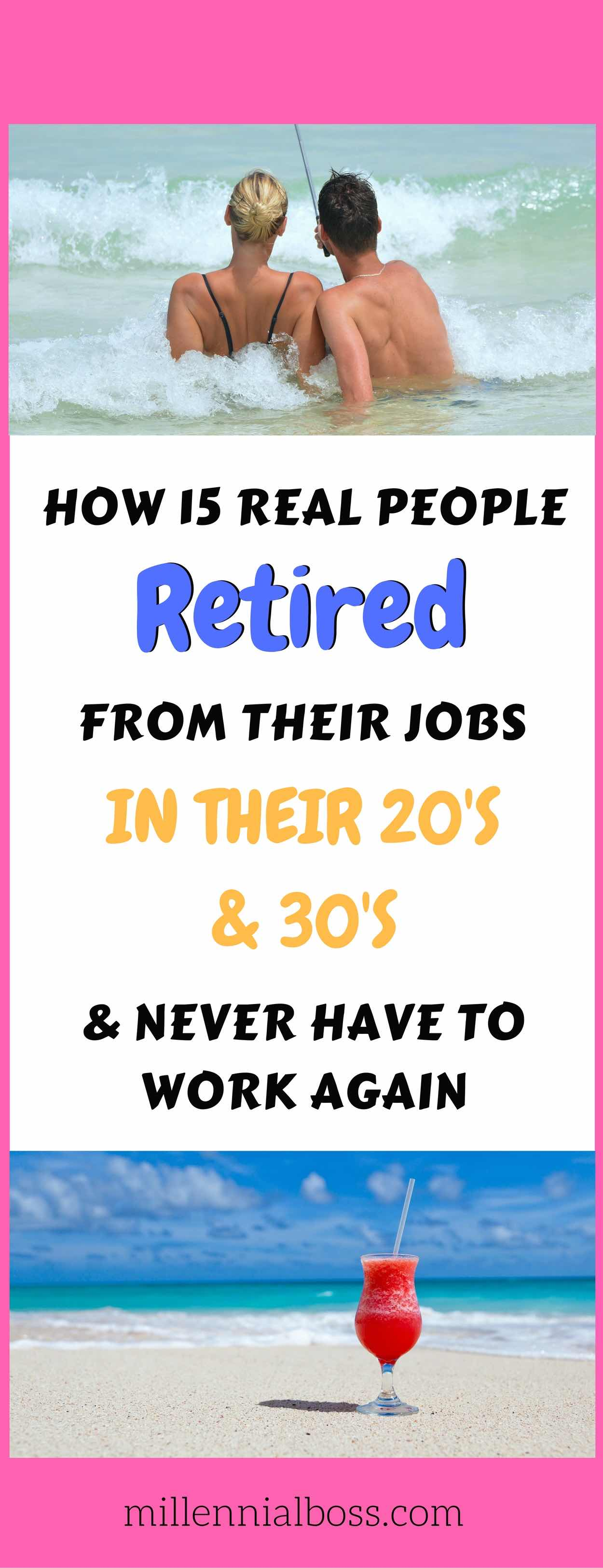 YES! There is hope! List of early retirees | How to retire early | How to quit job in twenties | How to quit job in thirties