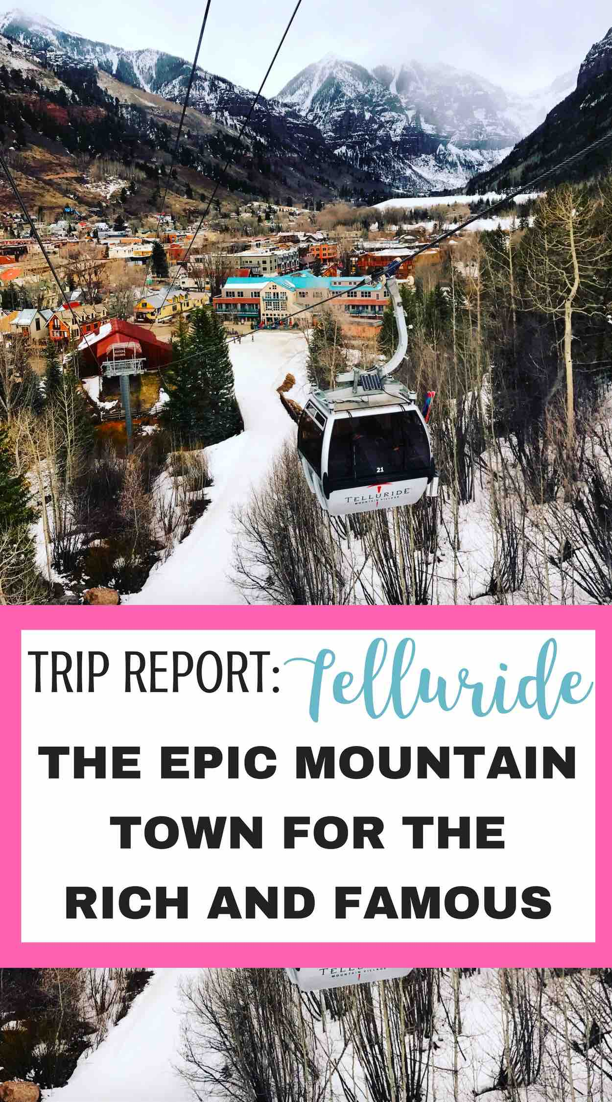 I've always wanted to go to Telluride! Thanks for writing this Telluride Trip Report!