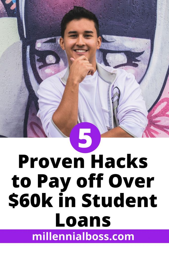 Feature Friday: Bald Thoughts Shares the 5 Hacks He Used to Pay Off Over $60k of Student Loan Debt!