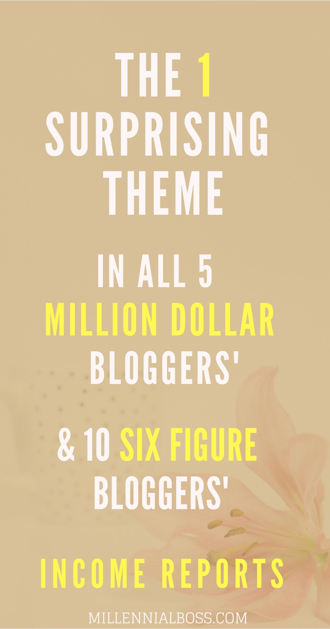 Wow! I never saw these themes in the top blogging income reports but all the top bloggers have these sources of income. Very true.