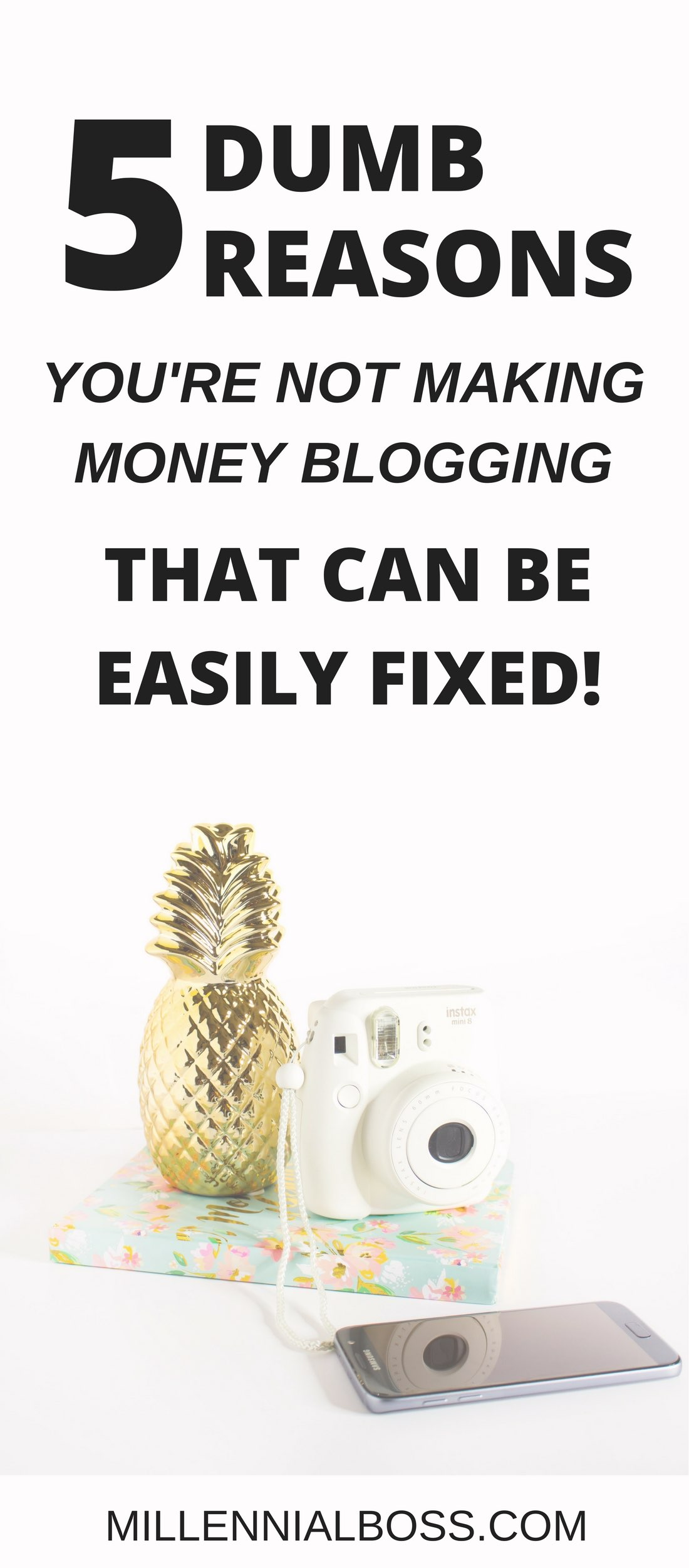 Great advice on how to make money on your blog! (When you're frustrated and ready to give up on your blog!)