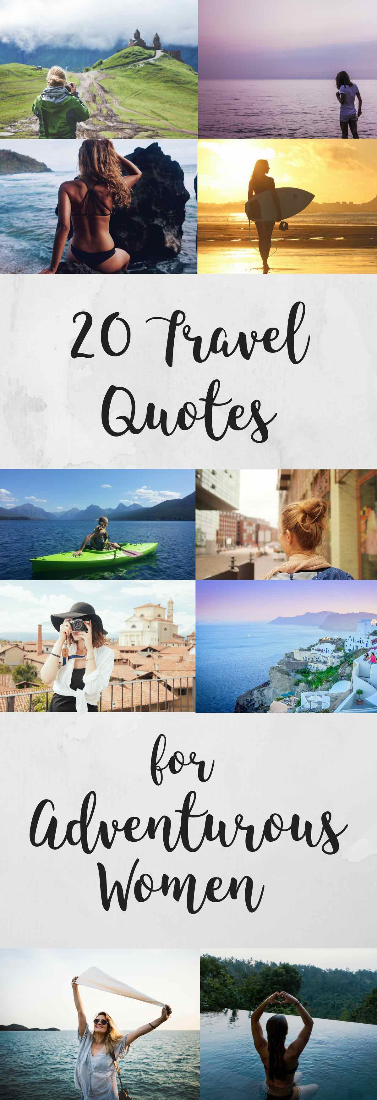 I love these quotes about travel for women!