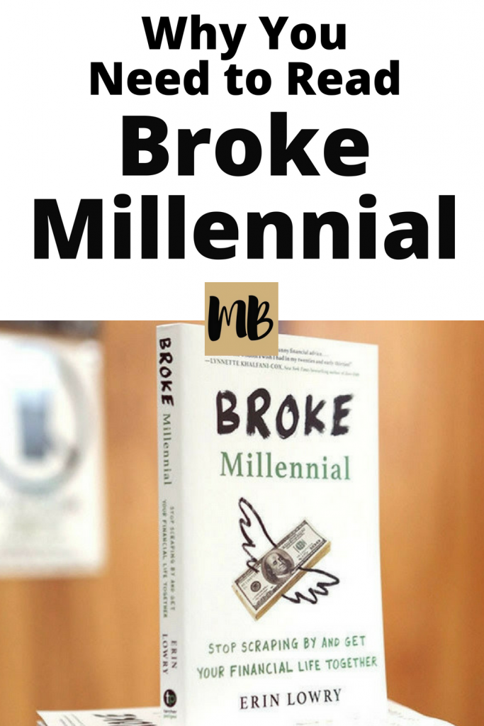 Erin Lowry is a millennial personal finance expert who just wrote a crazy awesome book, Broke Millennial: Stop Scraping By and Get Your Financial Life Together. I had the pleasure of meeting Erin last year and can say that she's the real deal. She can talk about financial stuff in a way that has you dying laughing and not feeling awkward at all.