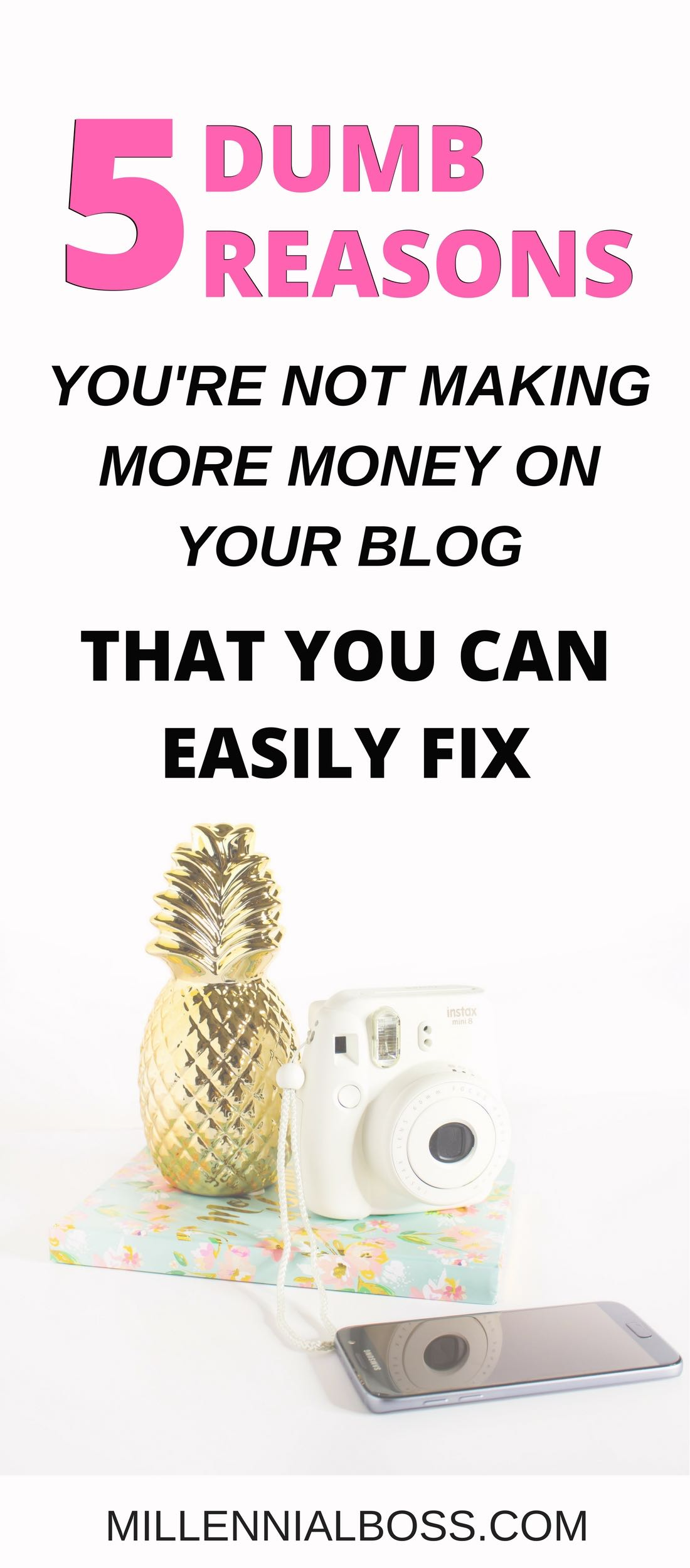 I wish I knew how to make my blog make money earlier! It feels like affiliate marketing is not working despite my efforts. This is probably why.