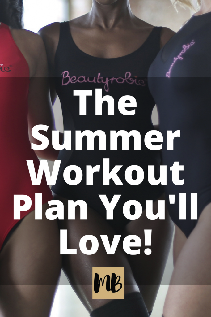 The Summer Exercise Plan You'll Actually Stick To! #fitness #summer #workouts #getfit