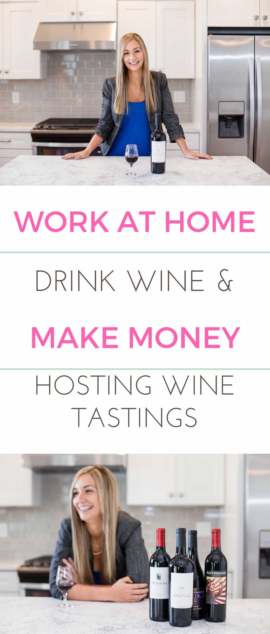 A flexible job that lets me work at home drinking wine? Yes, please!