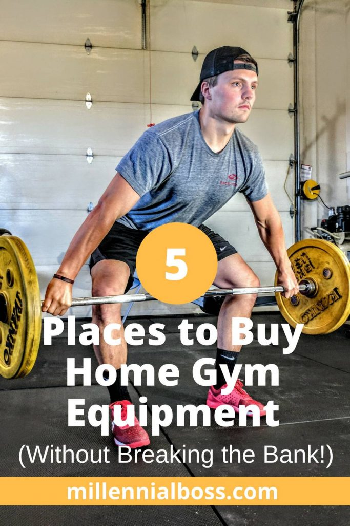 5 Places to Buy Home Gym Equipment Without Breaking the Bank!