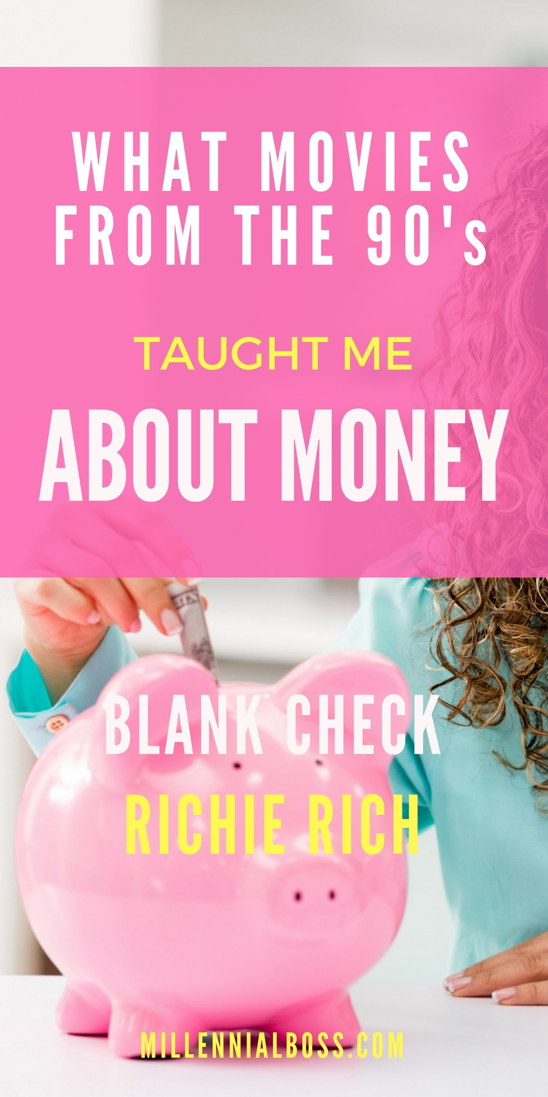 I totally forgot about Richie Rich and Blank Check! I hope these money lessons for kids are not lost on them!