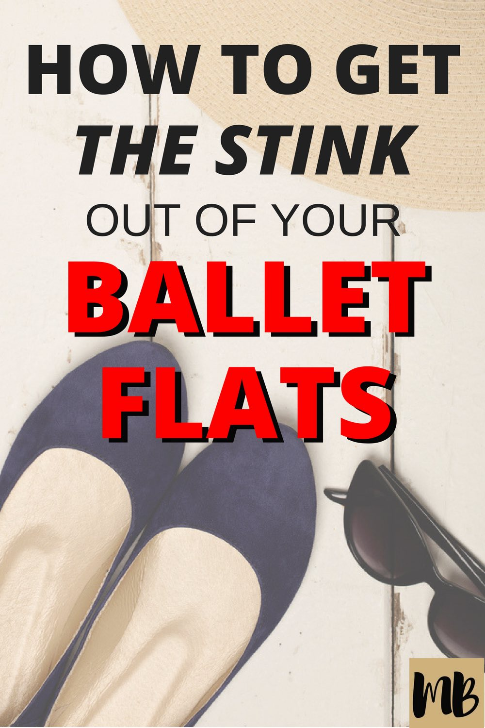 Get the stink out of your ballet flats with these tips