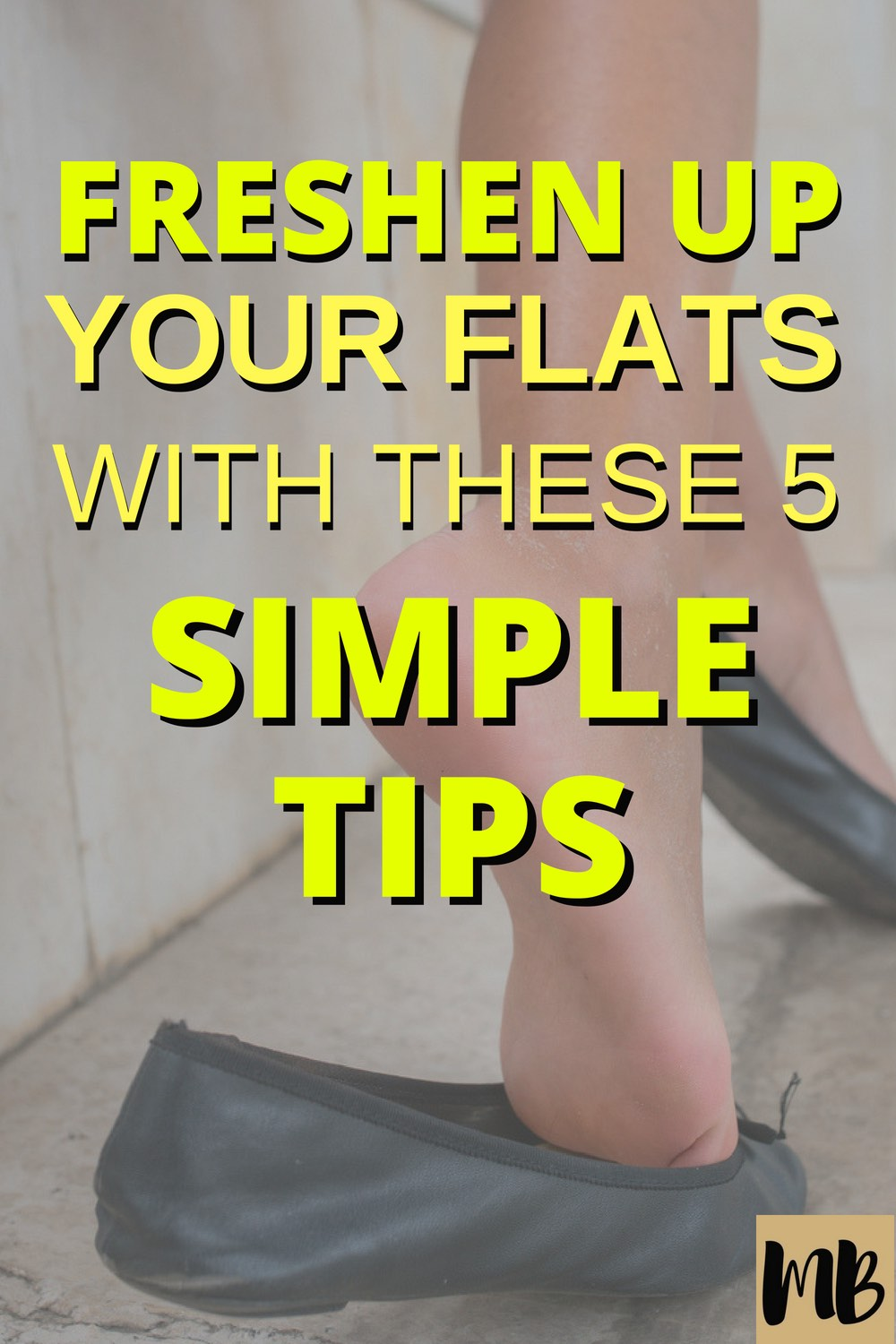 How to Clean Smelly Ballet Flats & Keep Them Looking Fresh