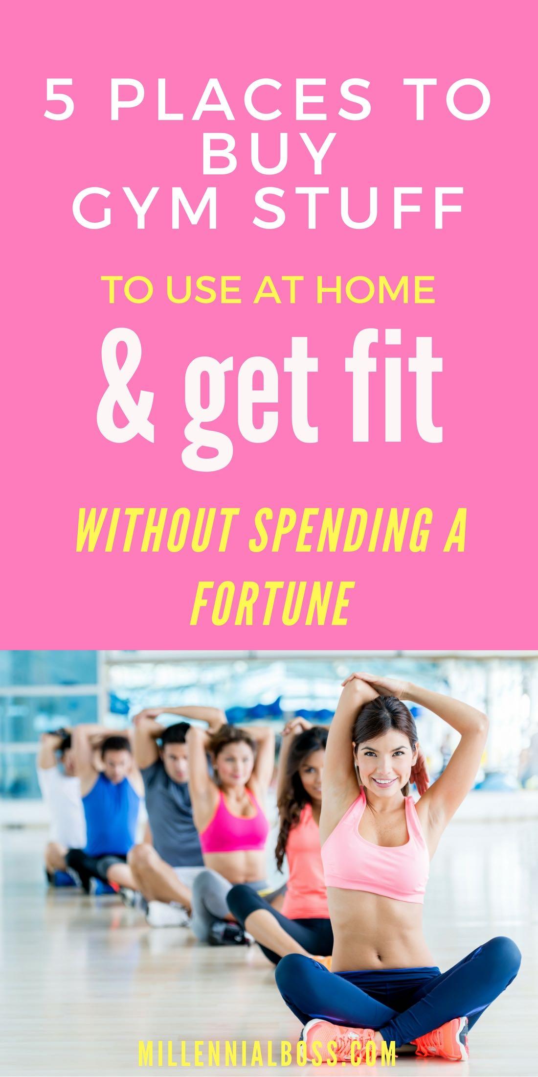 Cheap home gym equipment ideas for Cheap home stuff