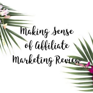 1 Year Out – Review of Making Sense of Affiliate Marketing Course