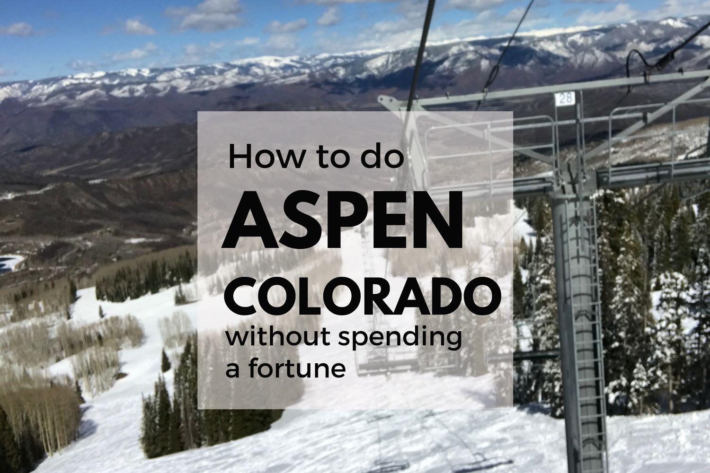 Aspen Trip Report Summer And Winter In Aspen