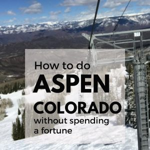 Aspen Trip Report – Summer and Winter in Aspen