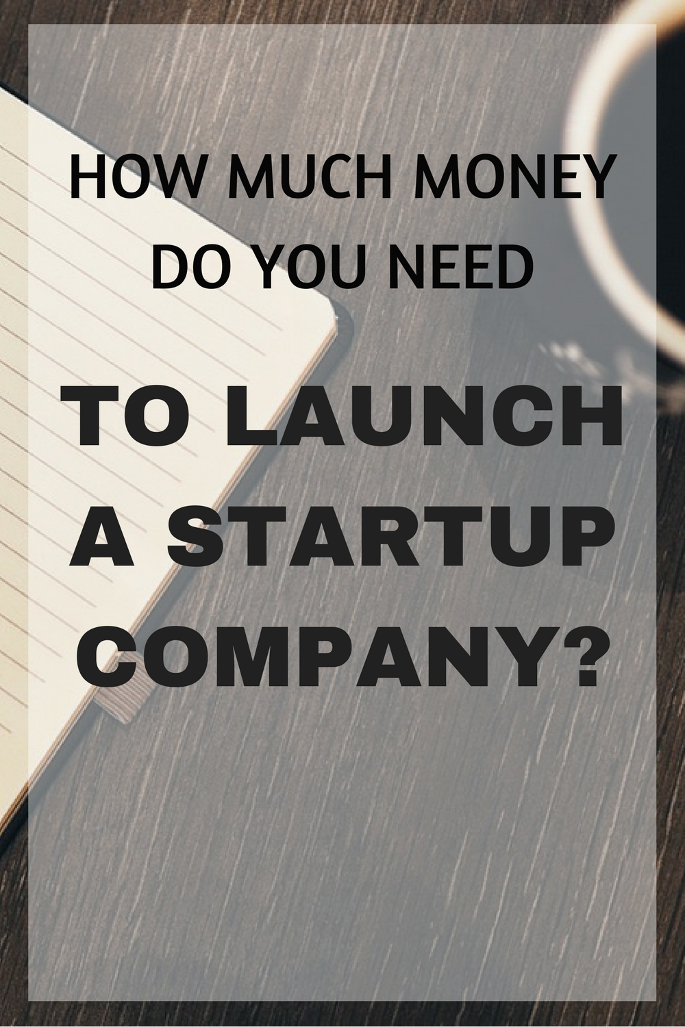 how much money need launch startup?
