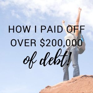 Feature Friday: How I Crushed Over $200,000 in Student Loans
