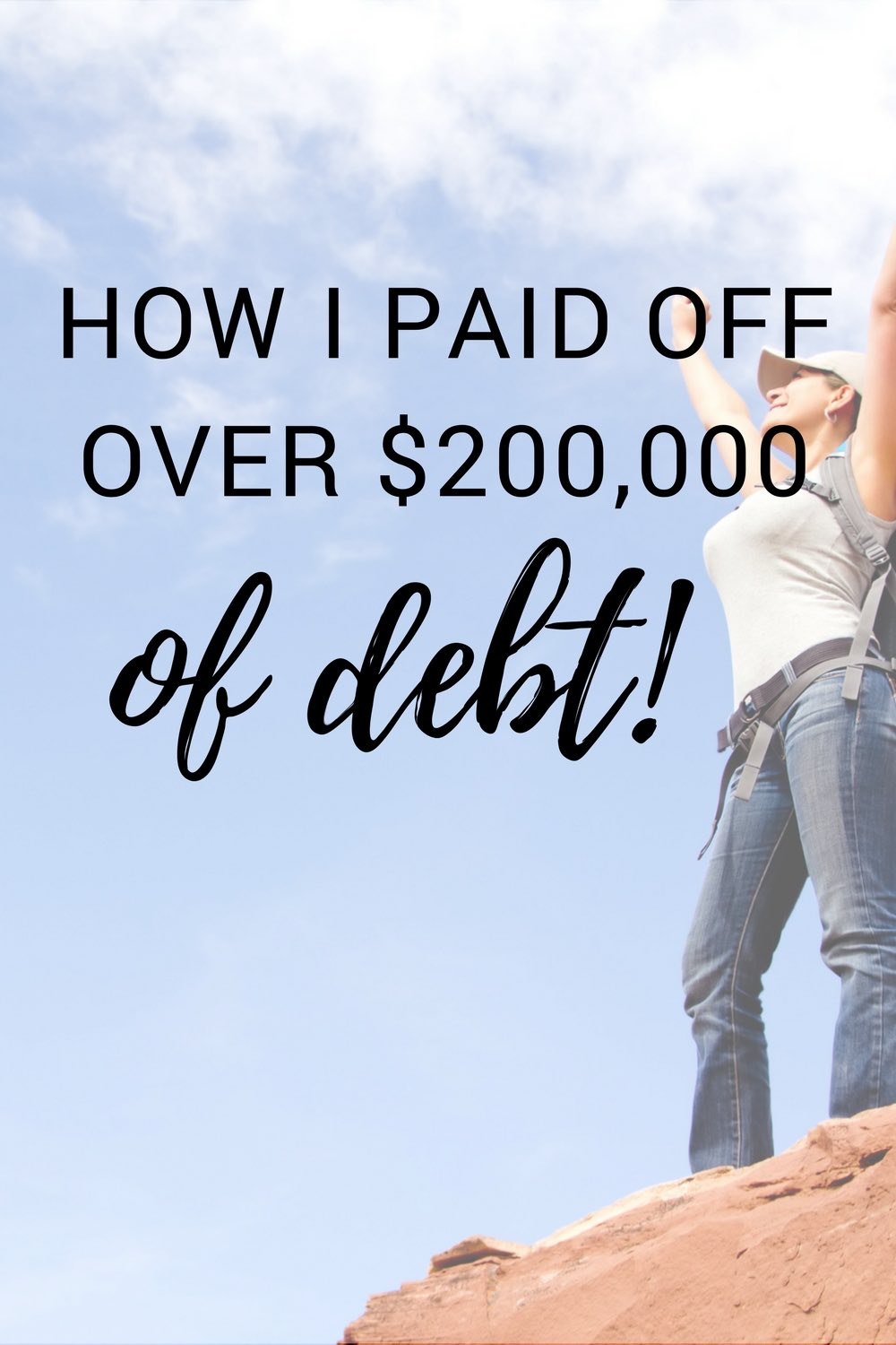 I don't envy this person! $200,000 is crazy money. Thanks for the tip to pay off my debt.