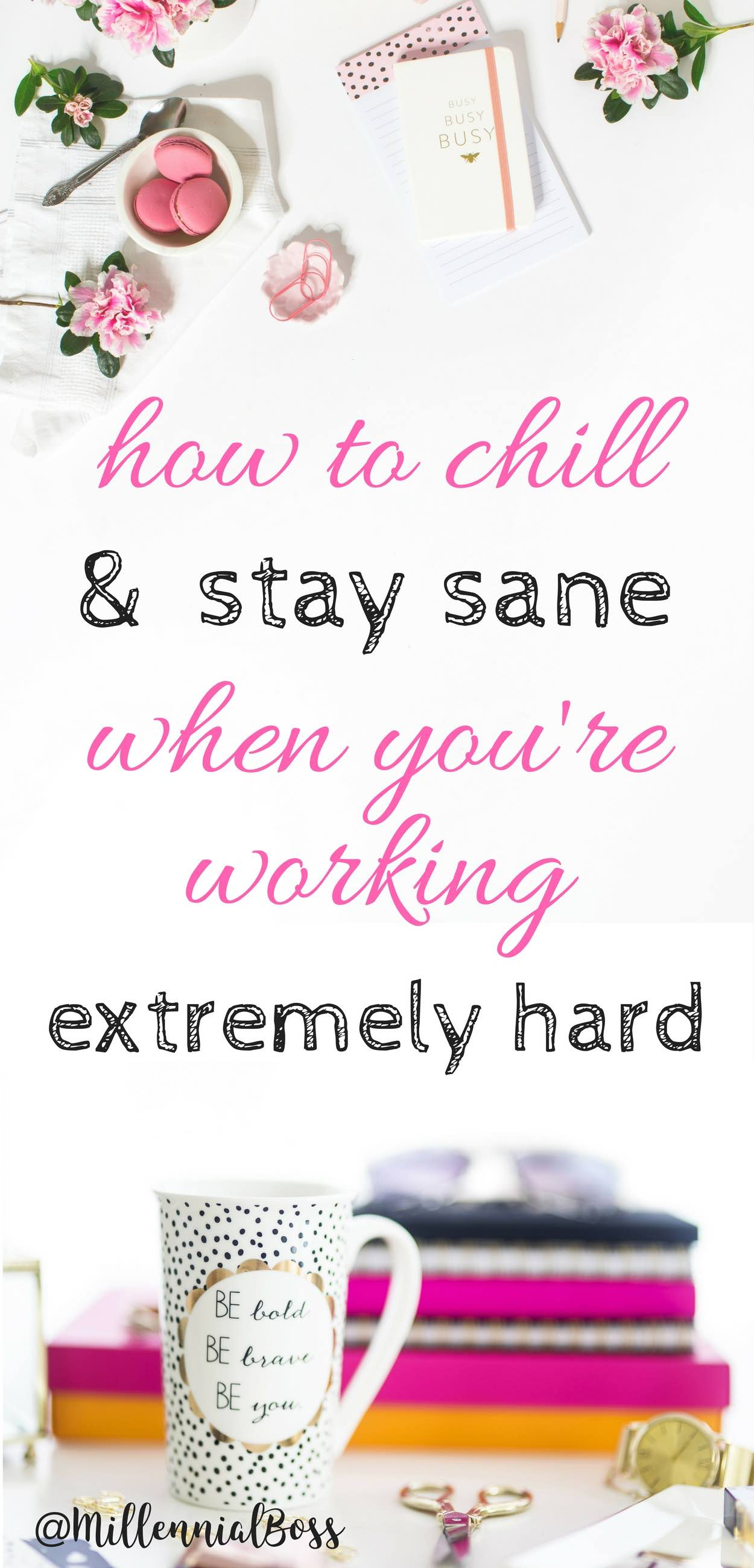 Great advice for the people like me who don't stop! How to stay sane when you're working extremely hard