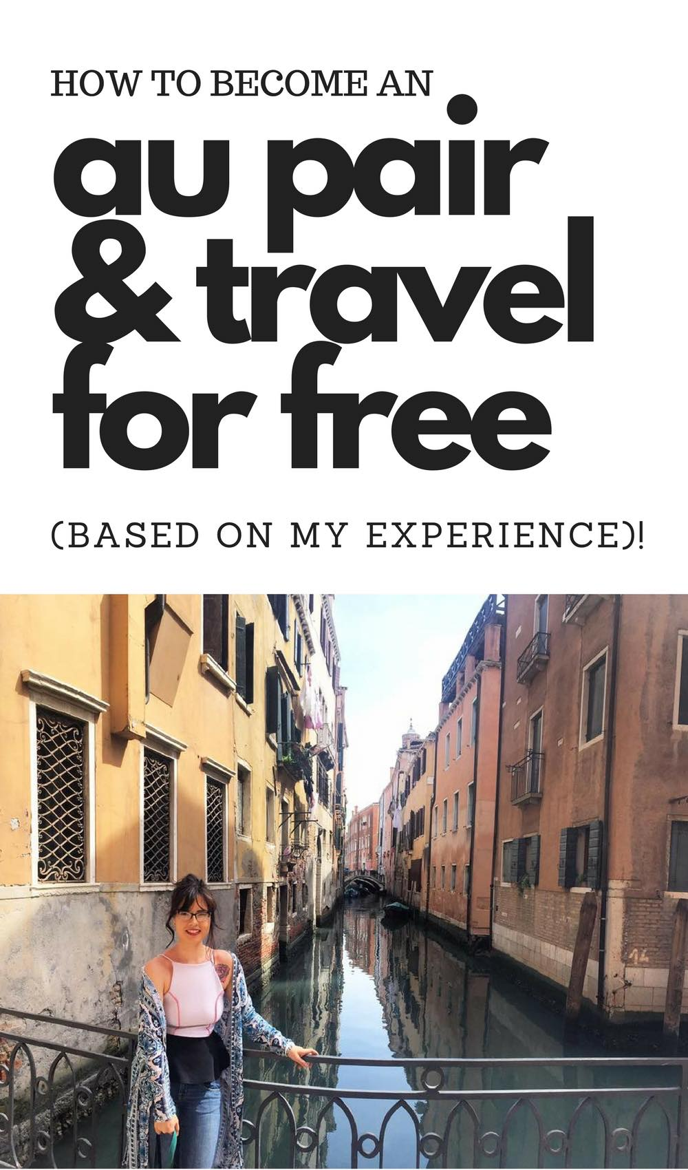 5 Ways to Get Paid to Travel for Free with Alexis of FitNancials| I love these au pair experiences! Glad to hear of someone doing it in the real world.